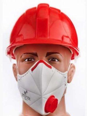 Захисна маска-респіратор Micron Virus Defence FFP-3 сертифікована з клапаном