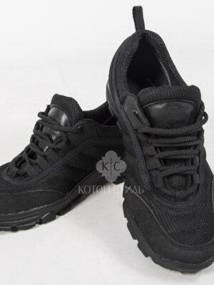 Тактичні кросівки чорного кольору